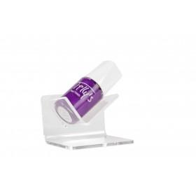 Transparante acryl nagellakhouder voor 1 flesje
